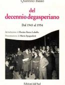 del decennio degasperianoDal 1943 al 1954