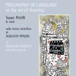 LA FILOSOFIA DEL LINGUAGGIO come arte dell'ascolto PHILOSOPHY OF LANGUAGE as the art of listening