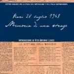 Bari 28 luglio 1943. Memoria di una strage