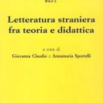 Letteratura straniera tra teoria e didattica
