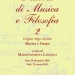 Festival di Musica e Filosofia 2Cogito ergo Suono - Musica e tempo