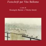 UNO SPIRITO LIBEROFestschrift per Vito Bellomo