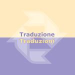 Traduzione/Traduzioni