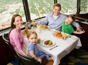 A cena fuori con i bambini: mayday-mayday!