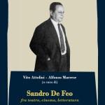 SANDRO DE FEO fra teatro, cinema, letteratura