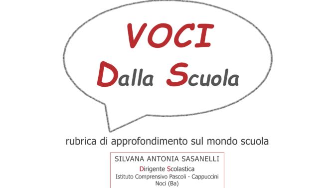 VOCI DALLA SCUOLA: DIARIO DI R(I)ESISTENZA PEDAGOGICA NELLA SCUOLA AI TEMPI DEL COVID-19, di Silvana Antonia Sasanelli, Dirigente Scolastica
